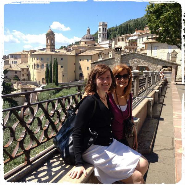 Nancy & Vivi's dream:  Tantric Studies—Sally Kempton—Meditation—Assisi, Italy!