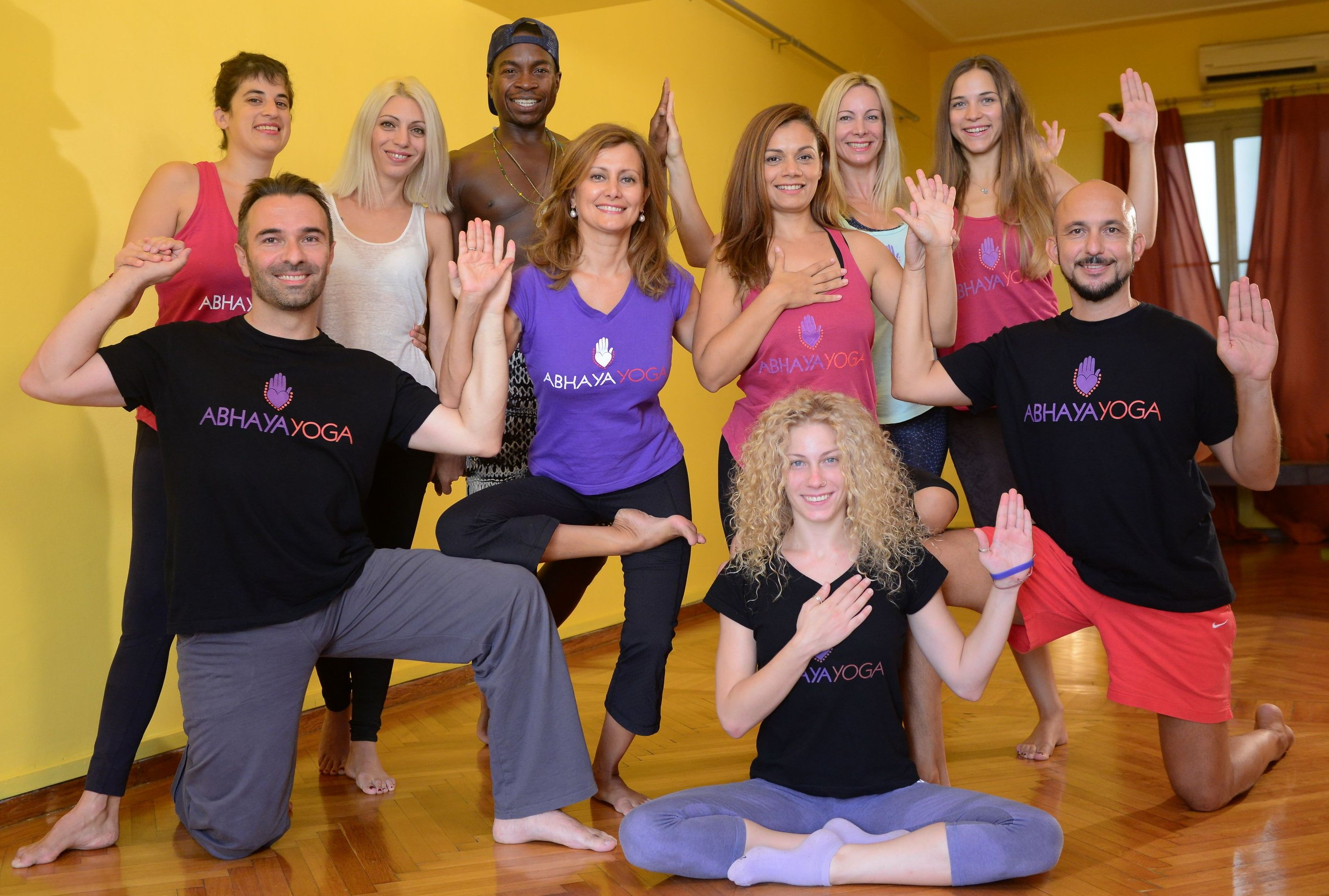 October practice theme at NYSY: Alignment