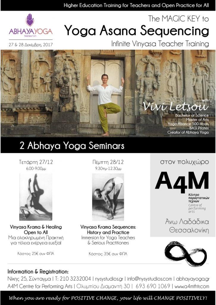 Vinyasa Krama: Yoga Asana Sequencing