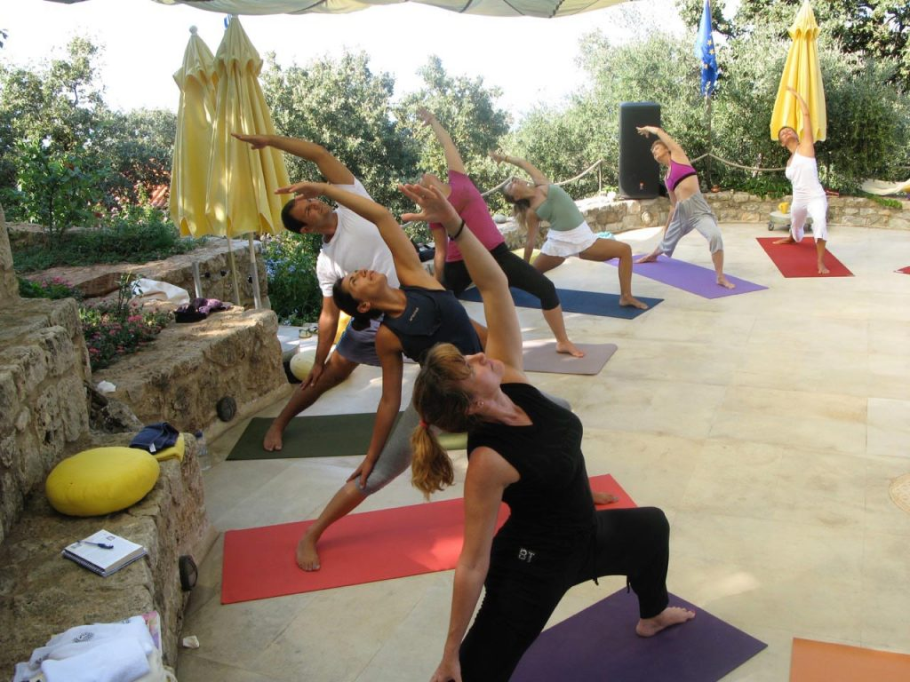 Yoga at Zen Rocks Mani