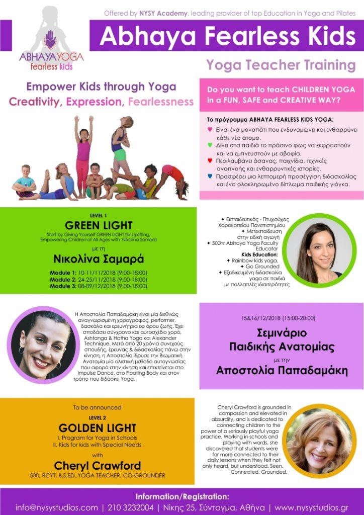 Abhaya Fearless Kids Yoga Teacher Training